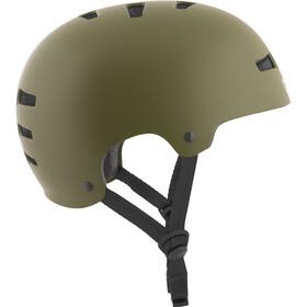 TSG Evolution Solid Color Helmet satin olive